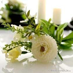 Frühlingsdeko mit Seidenblumen, Kunstblumen, Blumen künstlich
