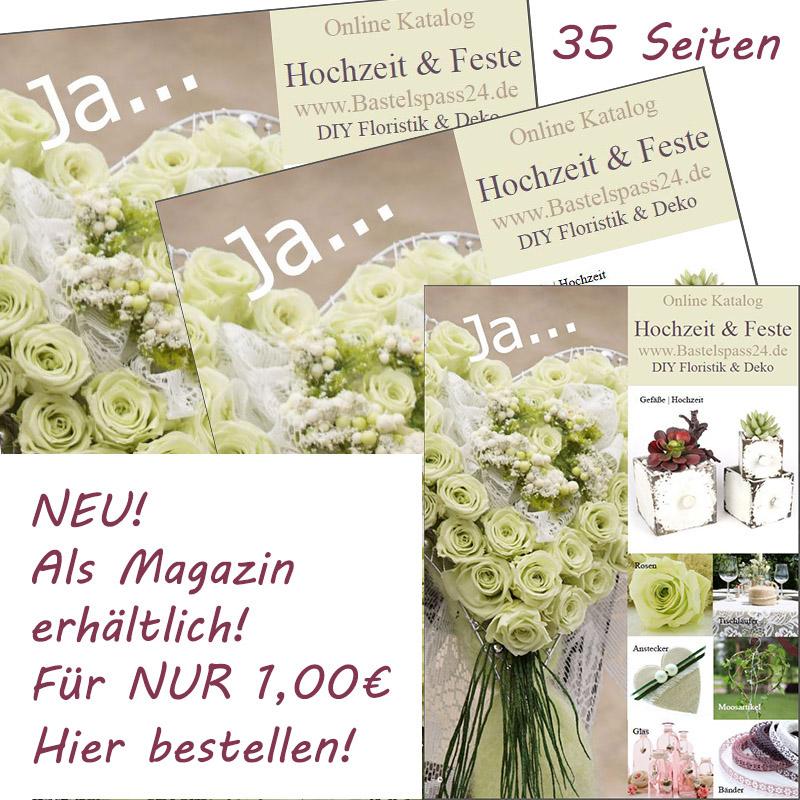 Magazin Katalog Hochzeit und Feste kaufen für Floristik und Hochzeitsdeko
