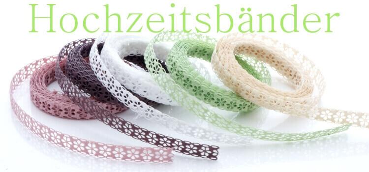 Spitzenbänder, Spitzenband, Hochzeitsbänder, Bänder für Hochzeit kaufen