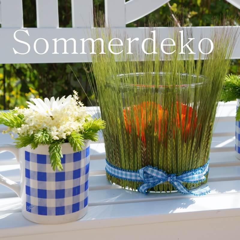 Sommerdeko DIY Ideen
